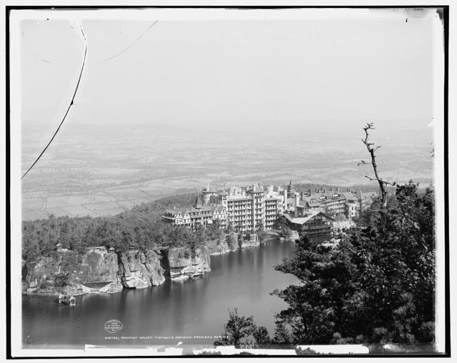 Rondout Valley and Lake Mohonk from Skytop [i.e. Sky Top], N.Y.