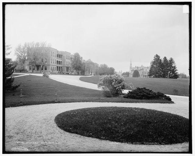 Soldiers' home, Dayton, O[hio]