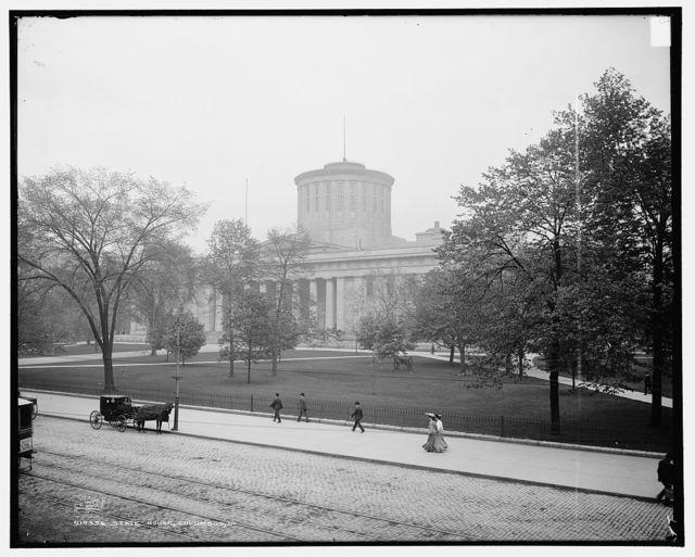 State House, Columbus, O[hio]