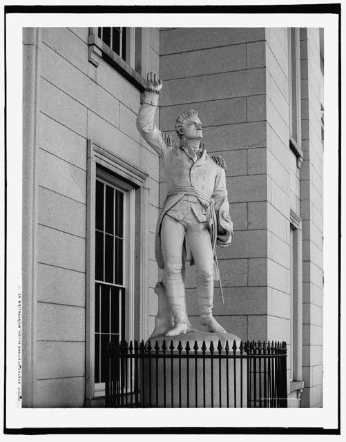 Statue of Ethan Allen, Montpelier, Vt.