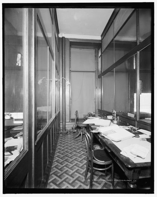 [Stenographers' room, Mulford & Petry Co.]