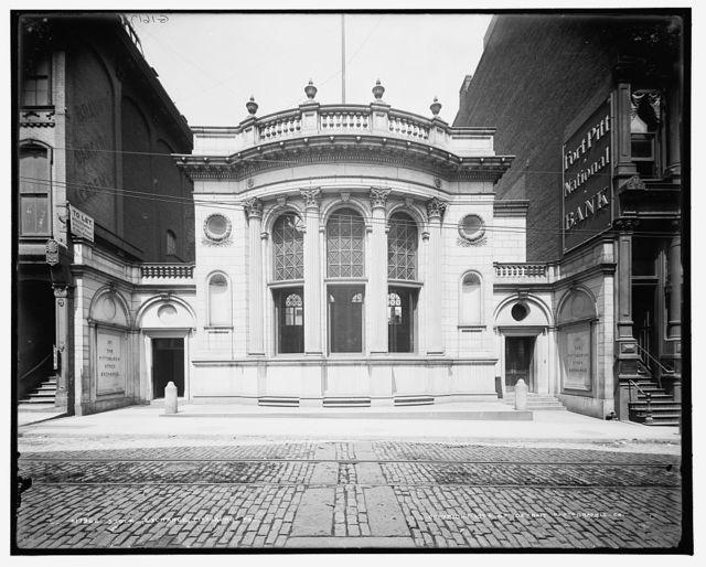 Stock exchange, Pittsburg, Pa.