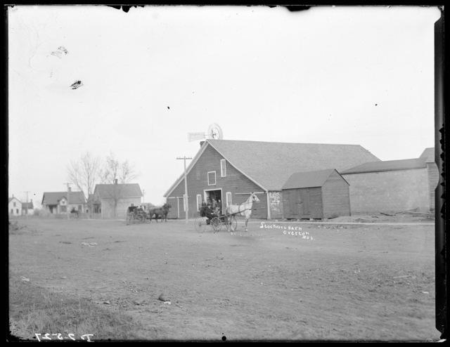 Stockwell Barn, Overton, Nebraska, Dawson County.