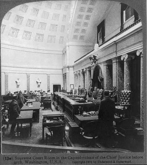 Supreme Court Room in the Capitol