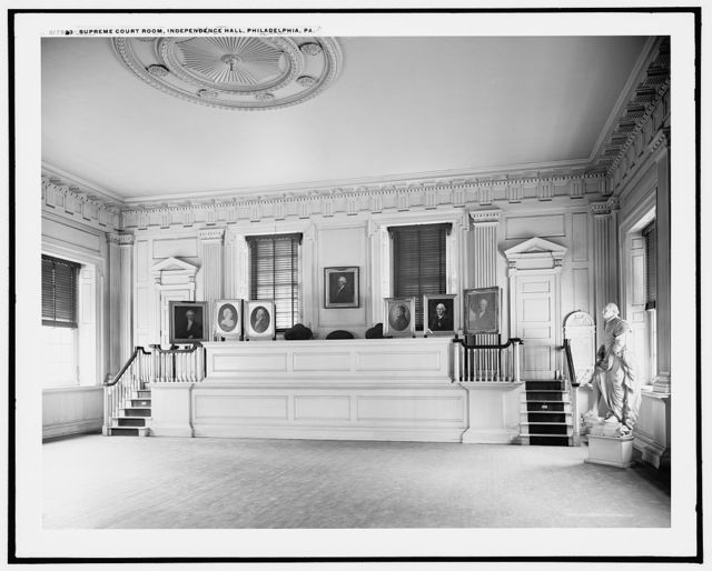 Supreme Court Room, Independence Hall, Philadelphia, Pa.