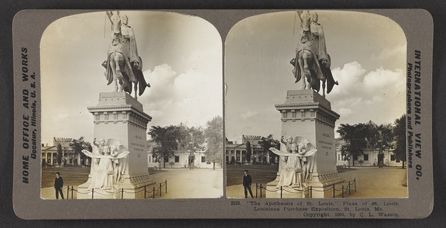 """The Apotheosis of St. Louis,"" Plaza of St. Louis, Louisiana Purchase Exposition, St. Louis, Mo."
