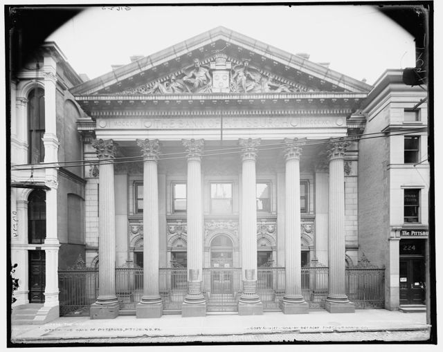 The Bank of Pittsburg, Pittsburg, Pa.