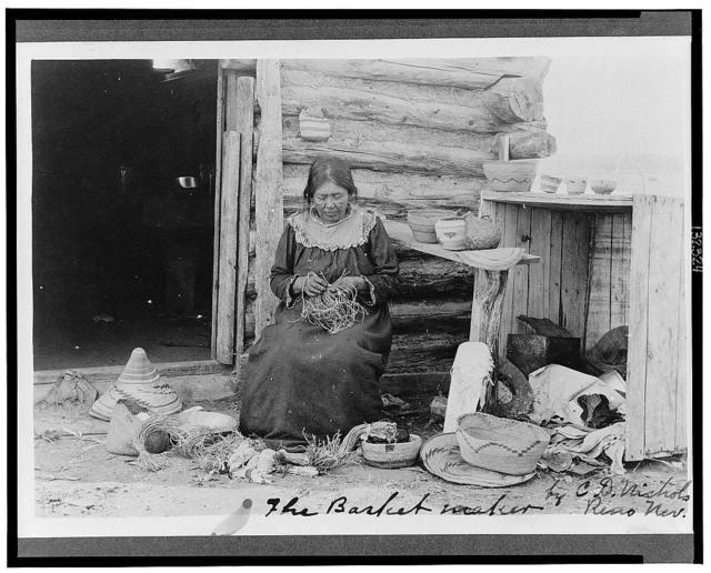 The basket maker / by C.D. Nichols, Reno Nev.