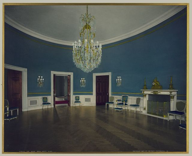 The Blue Room, White House