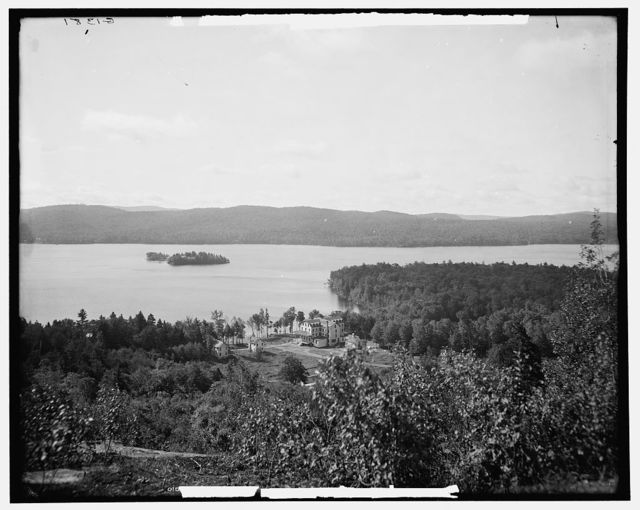 The Fourth Lake, Fulton Chain, Adirondack Mountains