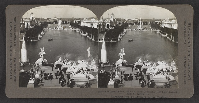 The Grand Basin from Art Hill, Louisaina Purchase Exposition, St. Louis., Mo.