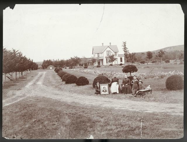 The new house on the  J.D. Ream farm northwest of Broken Bow, Custer County, Nebraska.