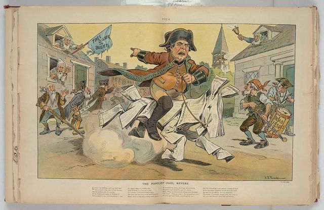 The populist Paul Revere / J.S. Pughe.