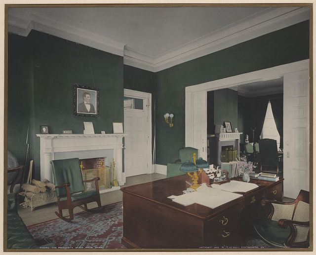 The President's office, White House