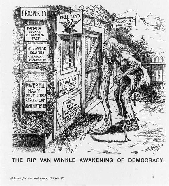 The Rip Van Winkle awakening of democracy