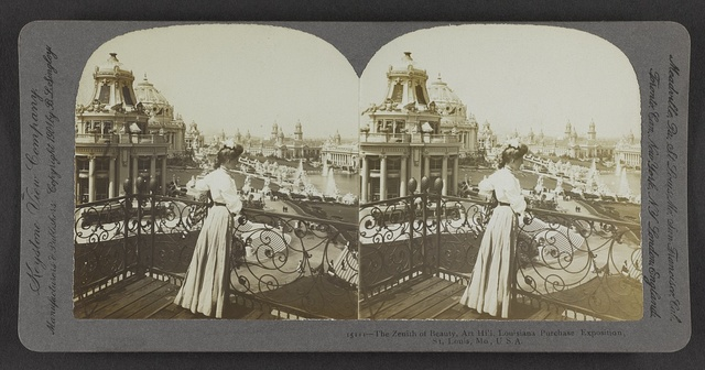 The zenith of beauty, Art Hill, Louisiana Purchase Exposition, St. Louis, Mo., U. S. A.