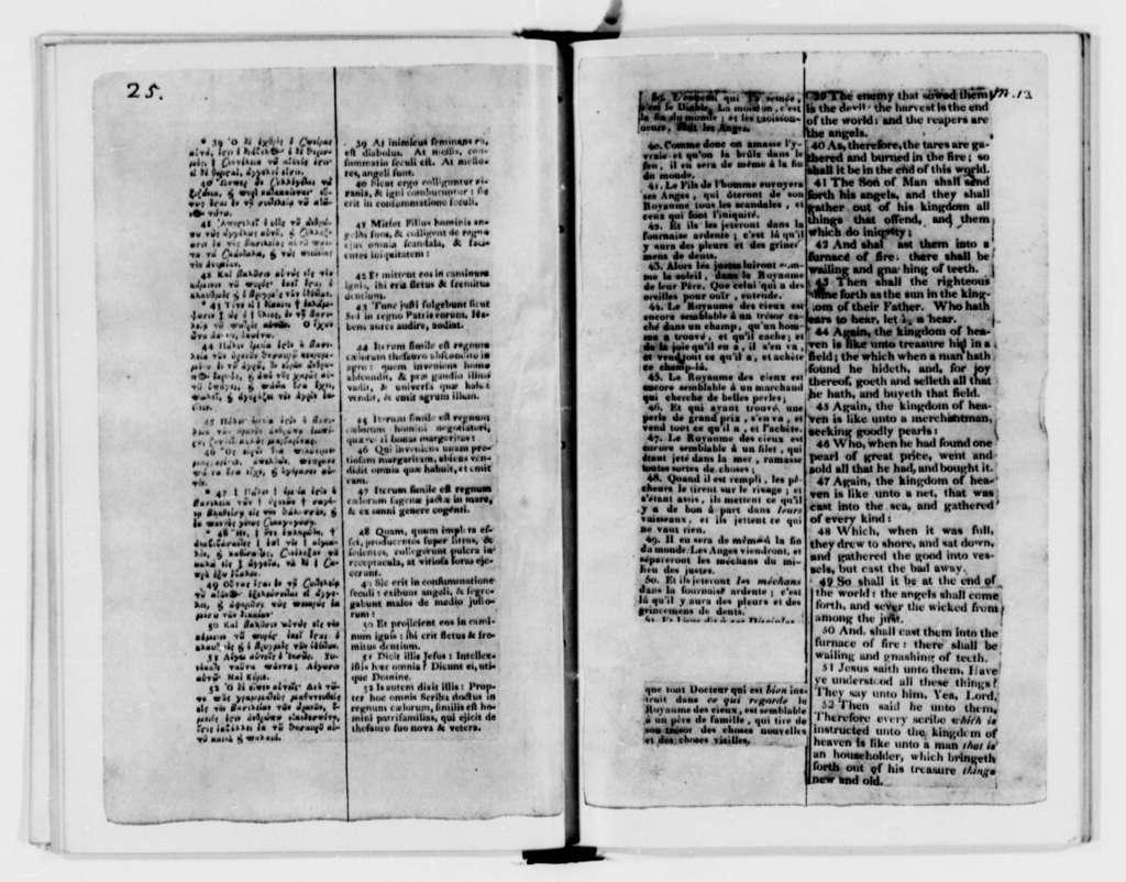 Volume 9: The Life and Morals of Jesus of Nazareth (Washington, 1904)