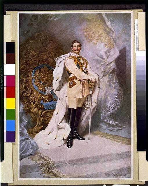 [Wilhelm II, full-length portrait, standing, facing slightly right] / Ferdinand Keller, 1893.