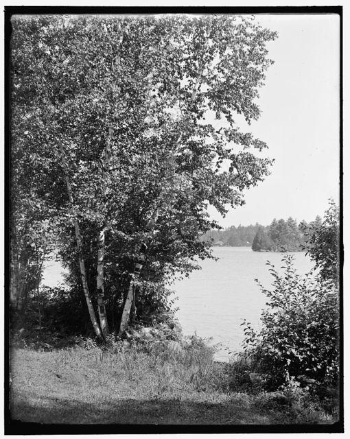[A Glimpse of Raquette Lake, Adirondacks, N.Y.]