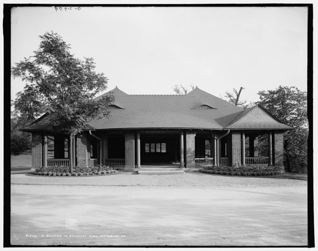 A Shelter in Schenley Park, Pittsburg, Pa.