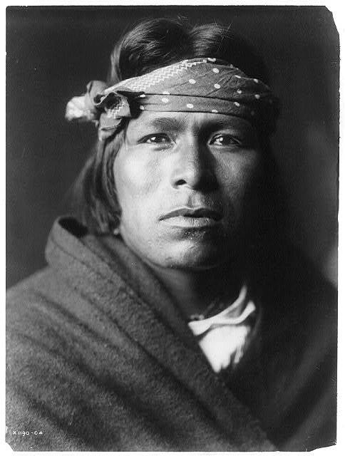 An Acoma man