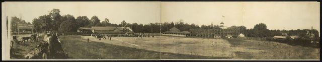 [Base ball park, Silver Lake, Ohio, 1905]