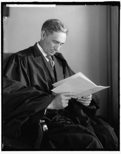 BRANDEIS, LOUIS D. JUSTICE
