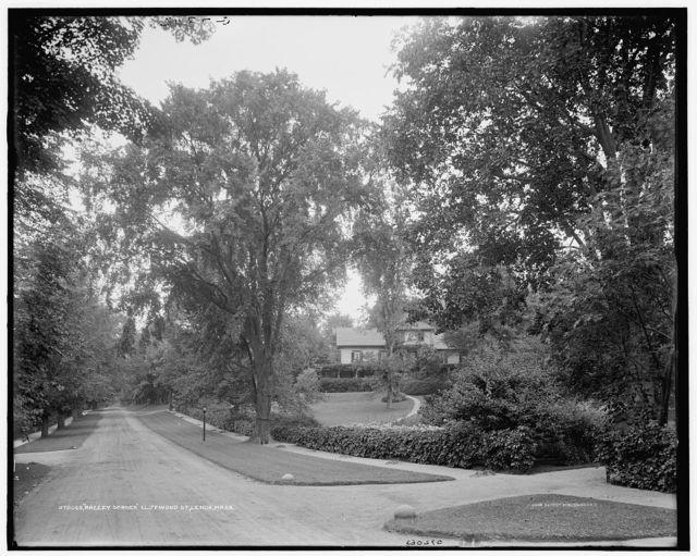 Breezy Corner [i.e. Corners], Cliffwood St. [Street], Lenox, Mass.