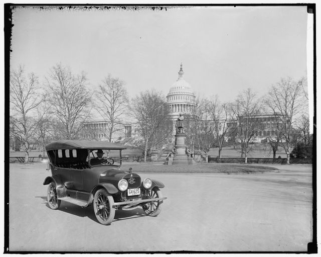 BROCKWAY MOTOR TRUCK CO. TRUCK AT CAPITOL