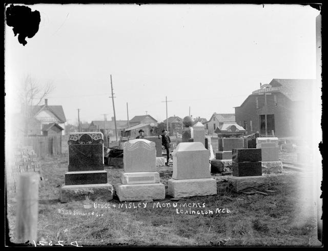 Bruce and Nisley Monument, Lexington, Nebraska.