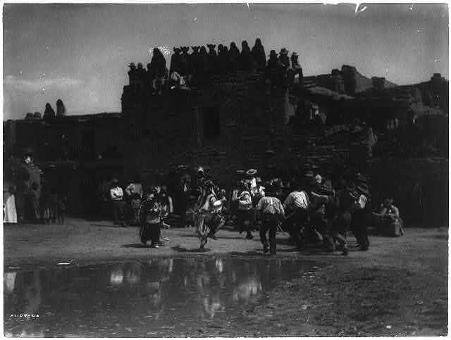 Buffalo Dance at Hano [A]