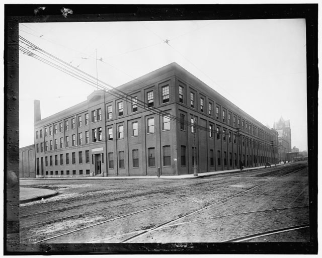 [Buhl Stamping Co. building, Detroit, Mich.]