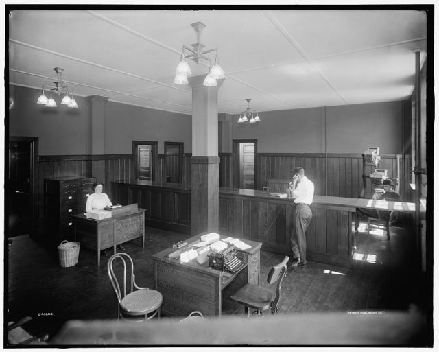 [Buhl Stamping Co., office, Detroit, Mich.]
