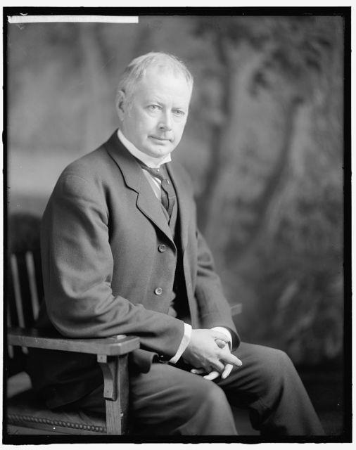 BURLESON, ALBERT S. HONORABLE
