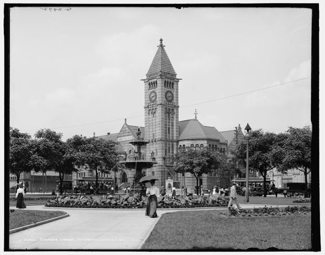 Carnegie Library, Pittsburg, north side, Pa.
