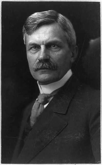 [Charles Nagel, 1849-1940, head and shoulders portrait, facing left. Lawyer, Sec'y Commerce & Labor]