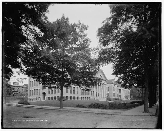 Chestnut St. [Street] school, Springfield, Mass.
