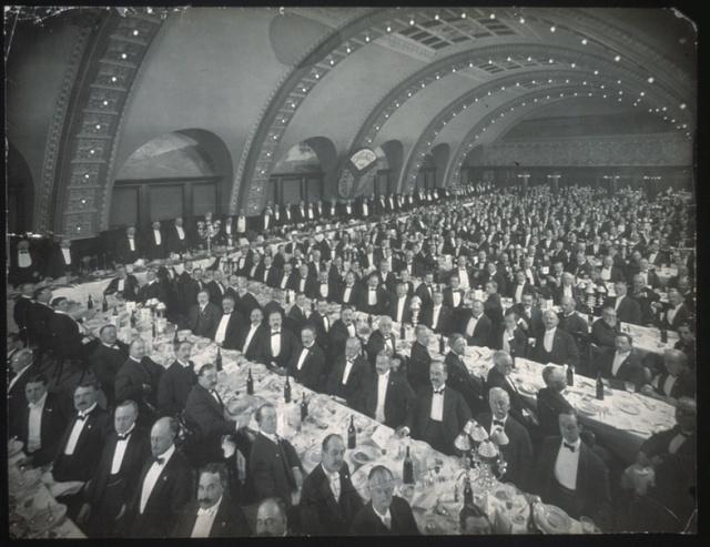 Chicago Commercial Assn. Banquet, Oct. 7th, 1905