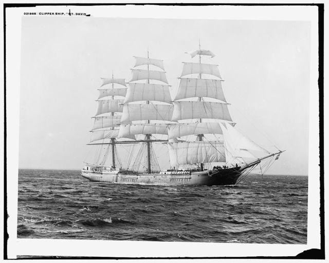 Clipper ship St. David