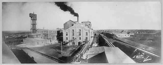 Colorado - Rocky Ford. Plant of the American Beet Sugar Co.