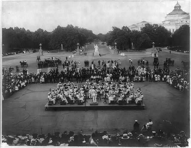 """Concert by U.S. Marine Band at U.S. Capitol - No. 1"""