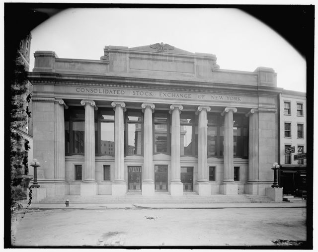 [Consolidated Stock Exchange, New York, N.Y.]