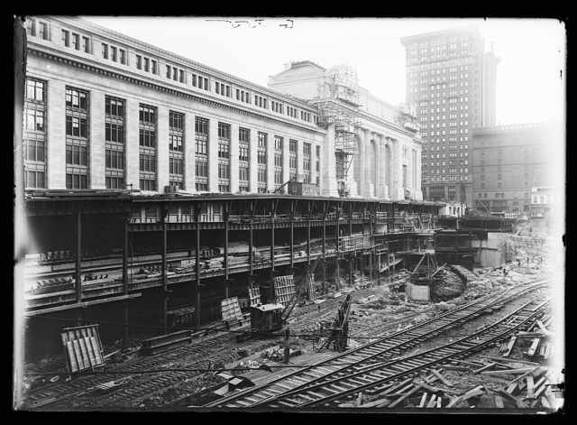 [Construction, Grand Central Terminal, New York, N.Y.]