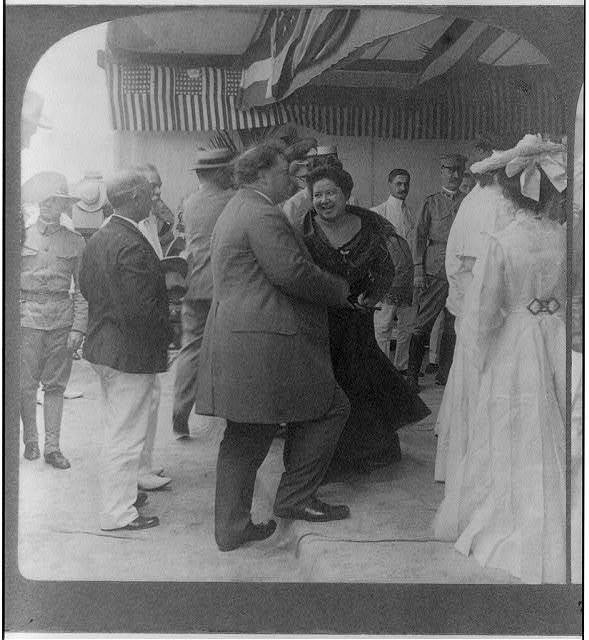 Cordial greetings of Filipino friends for Secretary Taft, on his visit to Manila, P.I.