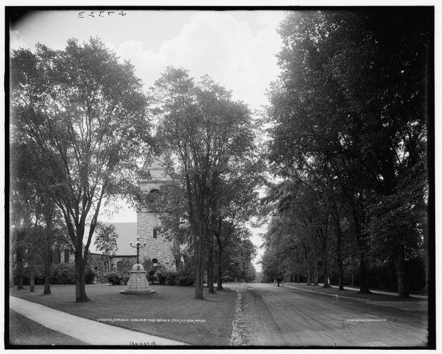 Corner Walker and Kemble Sts., Lenox, Mass.
