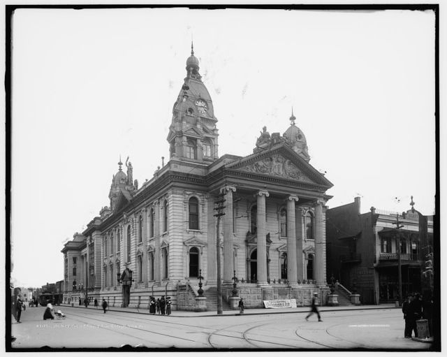 County court house and jail, Mobile, Ala.