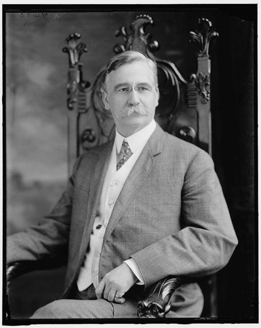 DILLINGHAM, WILLIAM B. SENATOR