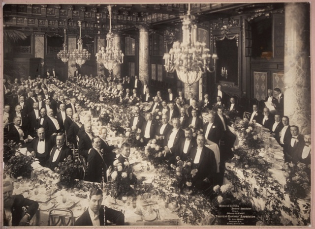 District of Columbia Banker's Association, Dinner to Officers and Council, American Banker's Association, The New Willard, Washington, D.C., Tuesday, October 10, 1905