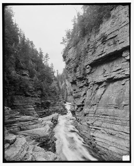 Down from Punch Bowl, Ausable Chasm, N.Y.