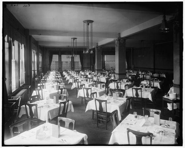 [Elliott, Taylor, Woolfenden, cafe & banquet hall, Detroit, Mich.]